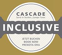 Unsere Gäste erhalten kostenlosen Zutritt zur CASCADE Badelandschaft sowie einen ermäßigten Eintritt in den CASCADE Saunabereich. Nur 10 Gehminuten von uns entfernt!